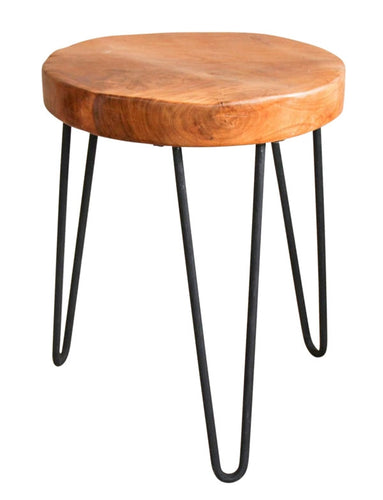 Natives Stool Beeswaxed 35x35x35 cm By Kelly Lane Pazaz Online