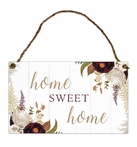 Natives Sweet Hanging Tin Sign 18x30 cm By Kelly Lane Pazaz Online