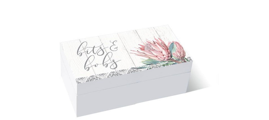 Protea Bits 3D Box  By Kelly Lane Pazaz Online