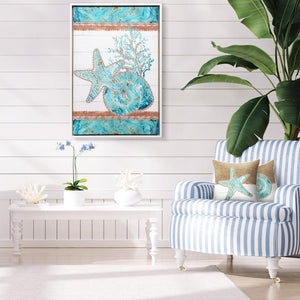 Reef Coral Framed Painting 60x90 cm By Kelly Lane Pazaz Online