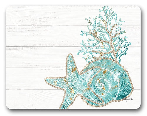 Reef Coral Placemat  Set of 6  By Kelly Lane Pazaz Online