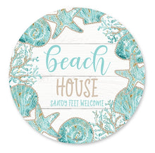 Load image into Gallery viewer, Reef House Placemat Round Set of 6  By Kelly Lane Pazaz Online