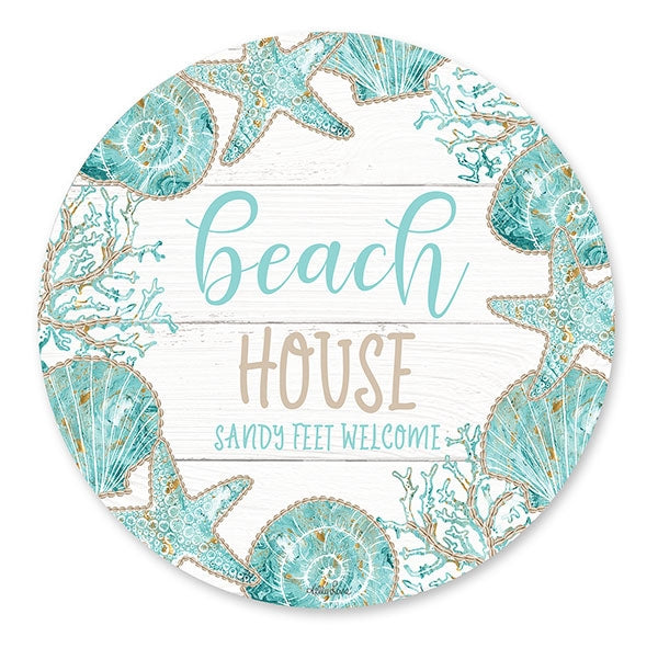 Reef House Placemat Round Set of 6  By Kelly Lane Pazaz Online