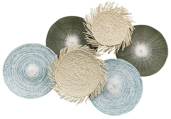 Reef Palm Wall Art 115x75 cm By Kelly Lane Pazaz Online