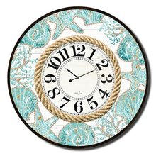 Load image into Gallery viewer, Reef Pattern Clock 60cm By Kelly Lane Pazaz Online