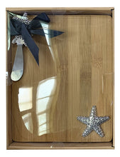 Load image into Gallery viewer, Reef Starfish Board & Knife Set 24x19x3cm By Kelly Lane Pazaz Online