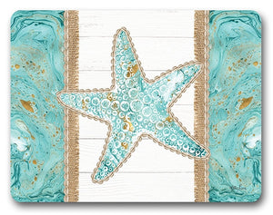 Reef Starfish Placemat Set of 6  By Kelly Lane Pazaz Online