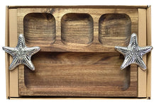 Load image into Gallery viewer, Reef Starfish Platter Divided 35x22x4 cm By Kelly Lane Pazaz Online