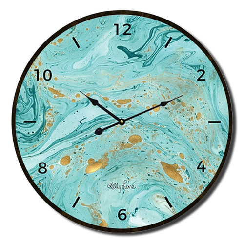 Reef Wave Clock 34cm By Kelly Lane Pazaz Online