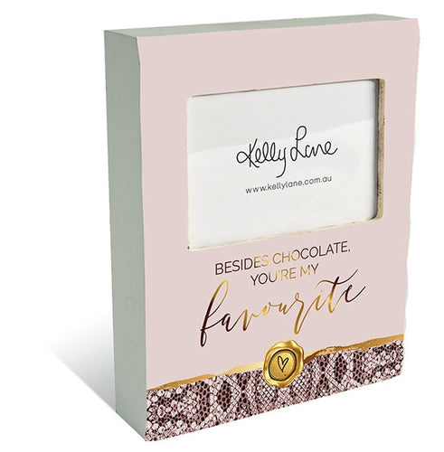 Vogue 3D Chocolate Photo Block By Kelly Lane Pazaz Online