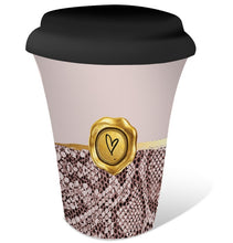 Load image into Gallery viewer, Vogue Coffee To Go Mug By Kelly Lane Pazaz Online Carry Tea Cup with Lid