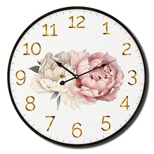 Load image into Gallery viewer, Vogue Peony Clock 22cm By Kelly Lane Pazaz Online
