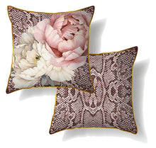 Load image into Gallery viewer, Vogue Peony Cushion 60x60 cm By Kelly Lane Pazaz Online