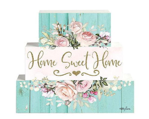 Blocks Set3 3D English Rose HOME