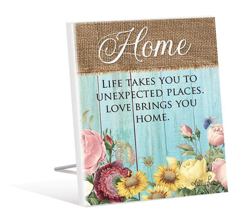Sentiment Plaque 12x15 3D Heirloom HOME