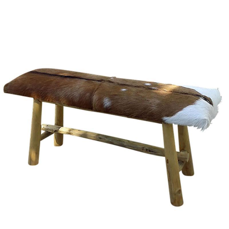 Stool Rectangle Natural Frame 90x30x55