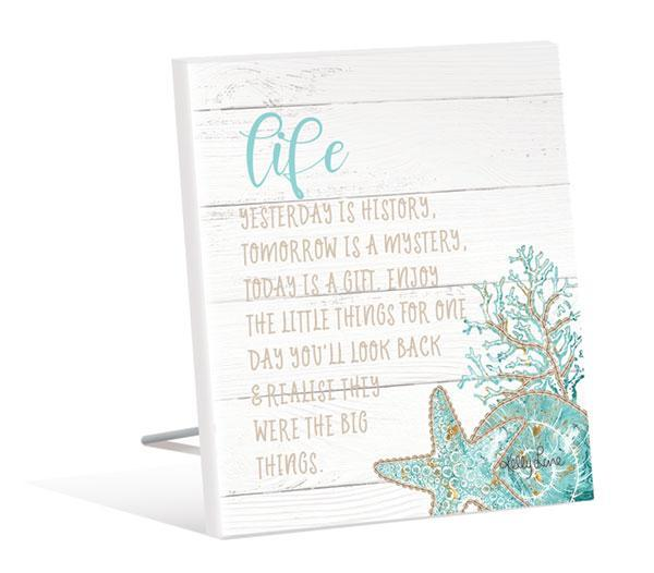 Sentiment Plaque 12x15 3D Reef LIFE