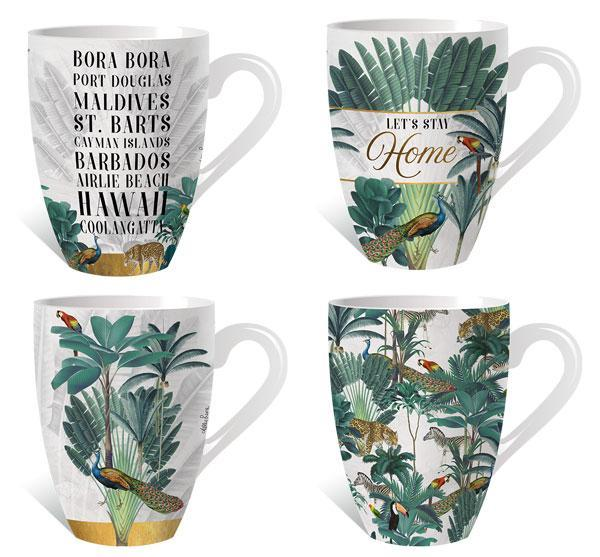 Mug Pk St Barts 12pc Assorted