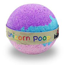 Load image into Gallery viewer, Unicorn Poop Magical Rainbow Moisturising Bath Bomb by Bomd