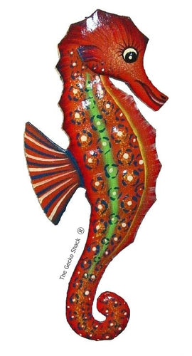 Reef Seahorse Small Red