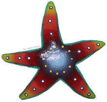 Load image into Gallery viewer, Starfish Metal Wall Art 20cm