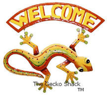 Load image into Gallery viewer, Welcome Gecko Yellow