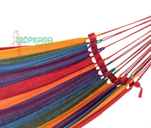 Load image into Gallery viewer, Single Size Brazilian Hammock - More pattern options available