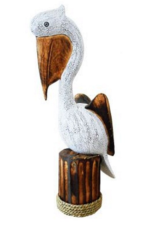 Pelican on a Post 55cm high free standing