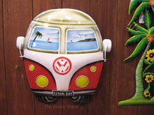 Load image into Gallery viewer, Kombi VW Red Wall Decor