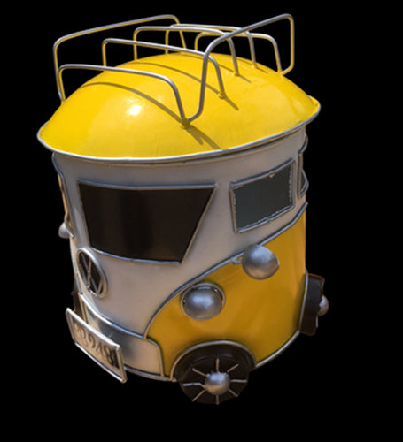 Bright Yellow VW style Kombi Mozzie Coil Holder