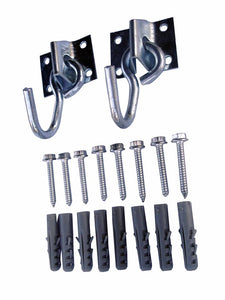 Double Hook Kit with Screws and Plugs for Hammock Chair Vivere Accessories