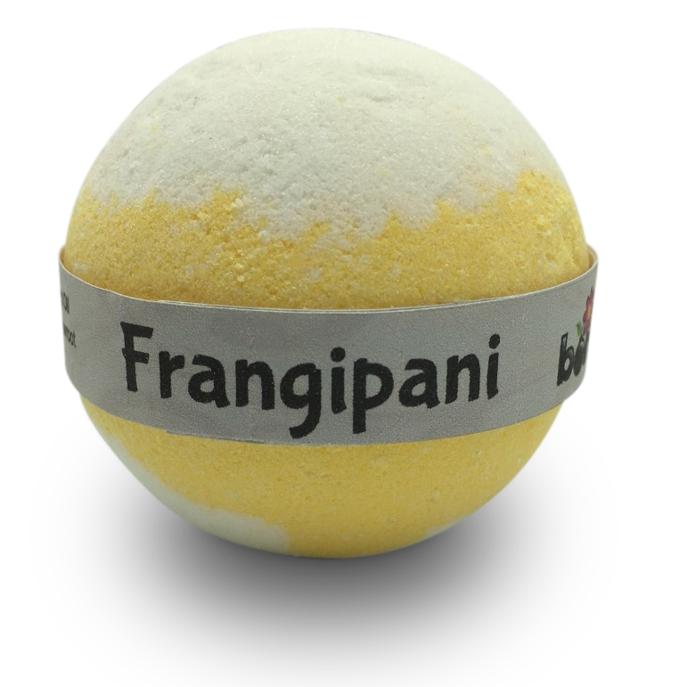 Wild Frangipani Bubble Bath Bomb