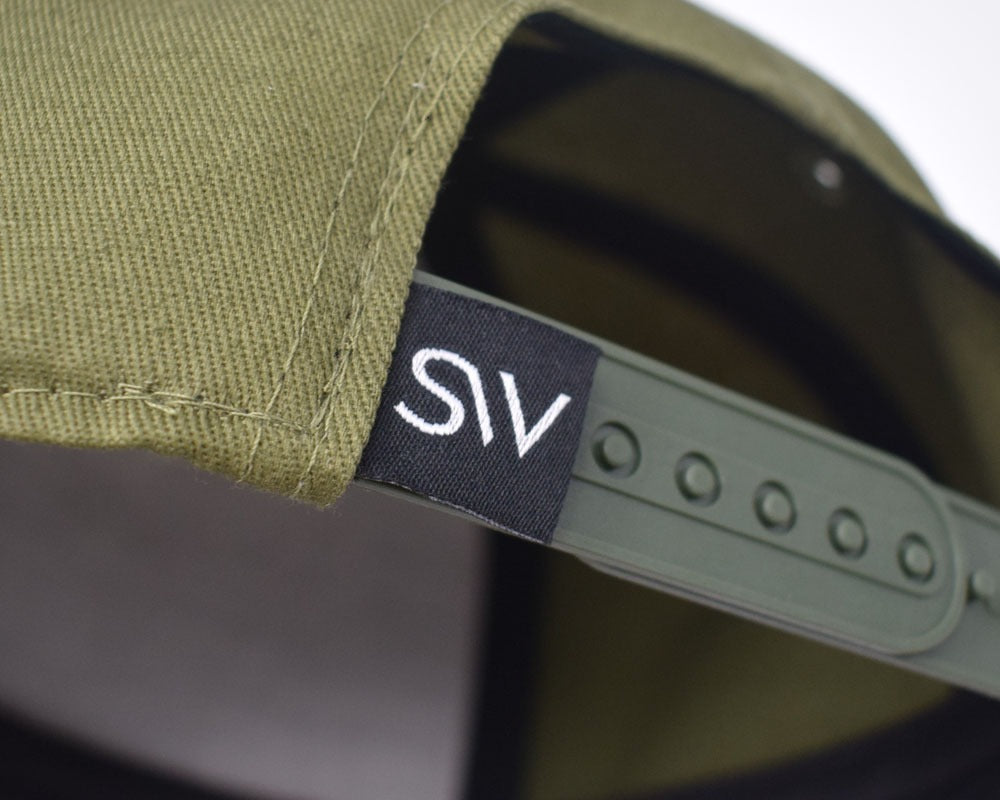 First Edition Olive Green Snapback
