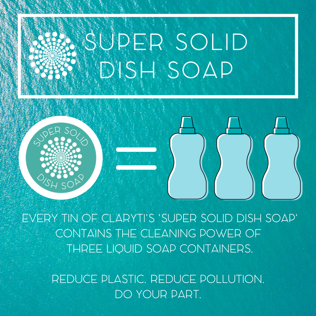 Super Solid Dish Soap Subscription Pack - Replaces 9 liquid dish soap bottles freeshipping - Claryti