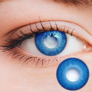 Light Blue Yearly Cosplay Contact Lenses