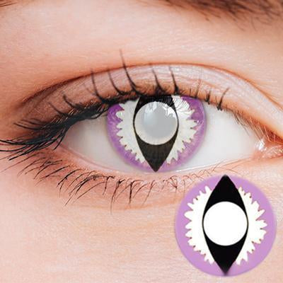 Dragon Eye Purple-White Yearly Cosplay Contact Lenses