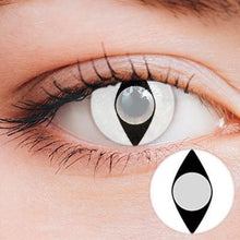 Load image into Gallery viewer, Cat Eye White Yearly Cosplay Contact Lenses