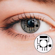 Load image into Gallery viewer, Robot Yearly Cosplay Contact Lenses