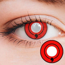 Load image into Gallery viewer, One Tomoe Sharingan Yearly Cosplay Contact Lenses