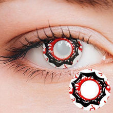 Load image into Gallery viewer, Sharingan Yearly Cosplay Contact Lenses