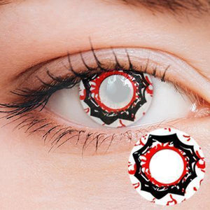 Sharingan Yearly Cosplay Contact Lenses