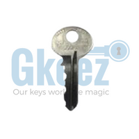 1 Anderson Hickey Office Furniture Key Replacement Key Series AH800-AH899 - GKEEZ