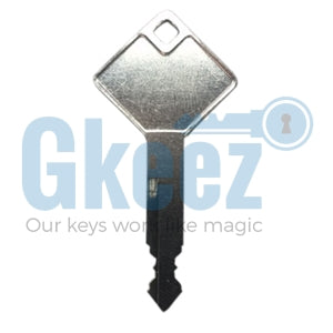 Gemtop Truck Cap Cover Replacement Keys Series 0001-0020