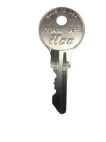 Steelcase Chicago File Cabinet Replacement Key Series 1251XC - 1300XC