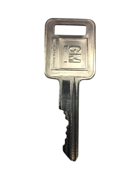 General Motors Replacement Key Series 00V0 – 99V0