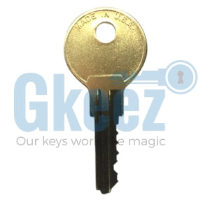 1 Anderson Hickey Office Furniture Key Replacement Key Series AH1300-AH1399
