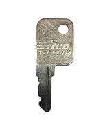 Haworth File Cabinet Replacement Key Series SL001 - SL100 - GKEEZ