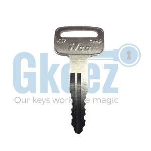 Yamaha Motorcycle Replacement Key Series E58613 - E62021 - GKEEZ