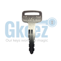 Yamaha Motorcycle Replacement Key Series C58613 - C62021
