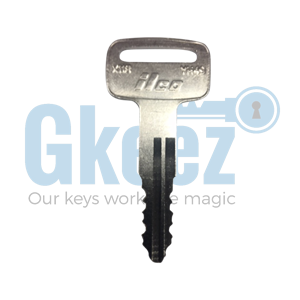 Yamaha Motorcycle Replacement Key Series D39541 - D52890